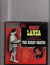"MARIO LANZA  ""THE GREAT CARUSO""! RCA VICTOR 4 RECORD SET  7"" VINAL"