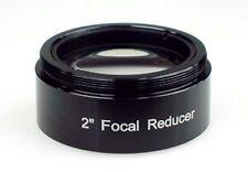 """TS-Optics 2"""" Focal Réducteur finie 0,5x résolument variable pour télescope, TSRed 052"""
