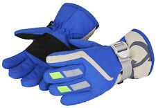 WATERFLY Children Winter Gloves Sport Skiing Snowboard Water Resistance Warm Ski