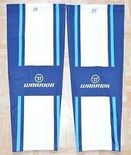 * ERC Ingolstadt Chloé Warrior game worn Socks/ajuster, Navy, D'OCCASION *