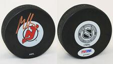 Martin Brodeur SIGNED New Jersey Devils Puck PSA/DNA AUTOGRAPHED