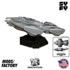 The Raza - Dark Matter - Syfy - Spaceship replica w/ Stand, 3D Printed