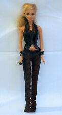 Mattel Barbie Shakira black outfit tenue noire doll poupée
