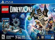 LEGO DIMENSIONS PLAYSTATION 4 PS4 STARTER PACK 71171 NEW IN FACTORY SEALED BOX!
