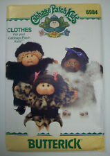 Cabbage Patch pattern 6984 unused fur coats and hat