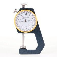 0-20mm Thickness Gauge Measurement Ruler 0.01mm for Silver Coin Jade Bracelet