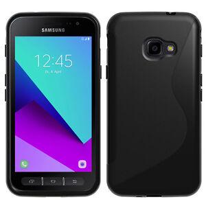 Housse Etui Coque TPU Silicone Gel S-Line pour Samsung Galaxy Xcover 4 SM-G390F