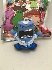 Disney Series 6 Figural Keyring Keychain RARE Blue Anger Exclusive B [BB2]