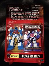 Transformers Heroes of Cybertron G1 Ultra Magnus Botcon 2014 Signed Jack Angel