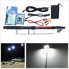Universal 12V Car SUV Outdoor Camping Telescopic Fishing Rod Lamp With IR Remote