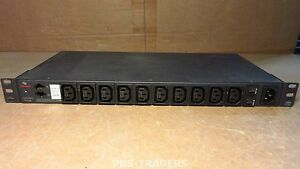 Avocent PM10i-10A Cyclades 10 Outlet 1u Rackmount PDU Intelligent Power Strip
