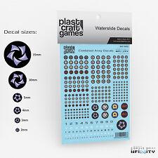 Plast Craft jeux Entièrement neuf dans sa boîte Infinity decals-Combiné INF406 armée