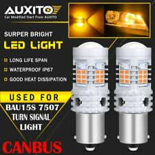 AUXITO BAU15S 7507 LED Turn Signal Light Amber Canbus No Hyper Flash Error Free