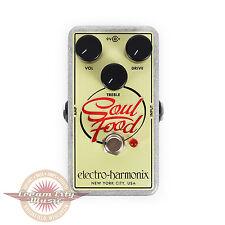 Brand New Electro-Harmonix Soul Food Transparent Overdrive Pedal