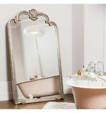 Wooden Frame Arched Full-length Mirror Decorative Mirrors