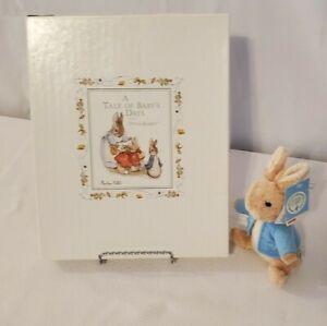 Peter Rabbit A Tale of Baby's Days Baby Book Memory Album Beatrix Potter Kids