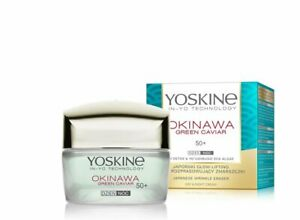 YOSKINE Okinawa Green Caviar krem/ Wrinkle eraser day and night cream 50+