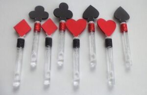Alice in wonderland, Party Favors, Supplies, Mad Hatter, Bubble Wand 10 PIECES