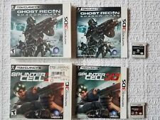 Tom Clancy's Ghost Recon: Shadow Wars and Splinter Cell 3D 3DS Complete!