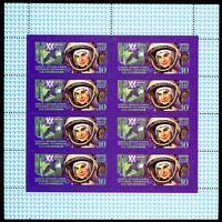 Sowjetunion Kleinbogen MiNr. 5283 postfrisch MNH bemannte Raumfahrt (GF11635