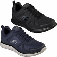 Mens Skechers Track-Scloric Lace Up Gym Memory Foam Sport Trainers Sizes 7 to 13