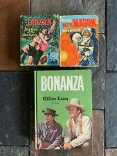 BIG LITTLE BOOKS/MAJOR MATT MASON & TARZAN + BONANZA BOOK ITEM #3737