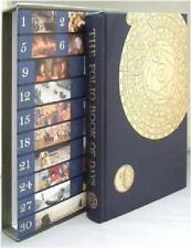 FOLIO SOCIETY BOOK OF DAYS SLIPCASED ILLUS GIFT ED Jane Austen MLK Ghandi & MORE