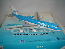 "Inflight 200 KLM Royal Dutch Airlines B747-400ERF ""2000s color - CARGO"" 1:200"