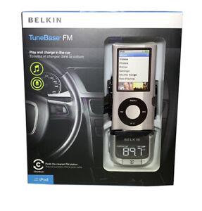 Belkin TuneBase FM Transmitter for Ipod F8z176ttp w ClearScan Tech 30 pin