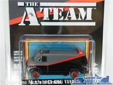 Das A-Team Van Modell GMC Vandura 1983 1:64 Größe A Team TV Serie Greenlight t3