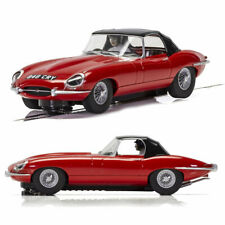 SCALEXTRIC Slot Car C4032 Jaguar E-Type - Red 848CRY