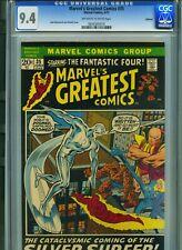 MARVEL'S GREATEST COMICS #35 CGC 9.4 OAKLAND PEDIGREE! FANTASTIC FOUR #48 STORY!