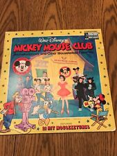 New listing 1975 Walt Disney'S Mickey Mouse Club Lp - Mouseketeer Cast & Annette - Vg+
