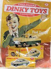 DINKY TOYS FORD ZEPHYR 162 MINIATURE 1:43 FRANCE CAR MODEL DE AGOSTINI ATLAS