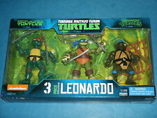 Teenage Mutant Ninja Turtles 'LEONARDO' 3-Pack Exclusive Set (Eastman & Laird's)