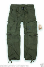 Pantaloni da uomo Verde regolare taglia 48