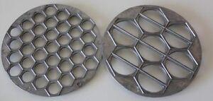 PELMENI RAVIOLI DUMPLING METAL OR PLASTIC FORM KITCHEN STUFF MOULD