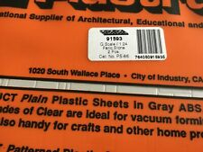 Plastruct 91593 Sht patio stone beige 2 sheets new