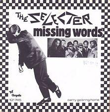 "7"" Selecter – Missing Words / SKA / Carry Go Bring Home // Dutch 1980"
