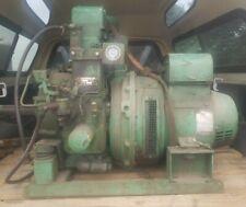 Vintage Lister Diesel Motor Generator Kohler