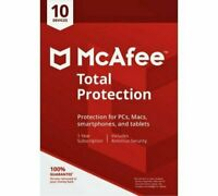 McAfee Total Protection 2019 Vollversion 1 Gerät 1 Jahr ESD Sofortversand
