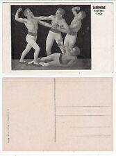 Sonnerie au cirque, Force Sport, Male Bodybuilding catcheur c.1925 gay int