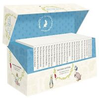 Beatrix Potter Peter Rabbit Library Jackets 23 Books Collection Box Set