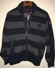 NEW Paul & Shark Yachting Jacket Blusotto GREY BLUE WOOL Cool Touch L Admirals