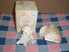 "Calico Kittens Figure 628425 Love's Special Delivery Baby Girl Kitten 2 1/2"" Hi"
