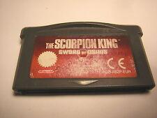 nintendo game boy advance The Scorpion King : Sword of Osiris   GBA