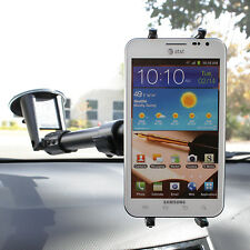 "Extending 14""-18"" Windshield Suction Mount for Samsung Galaxy S S4 Note 1 2"