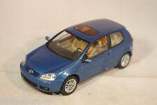 SCHUCO VW VOLKSWAGEN GOLF V BLUE MINT CONDITION