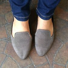 ▓ gray mules sandals size 5