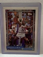 1992-93 Topps Draft Pick #362 Shaquille O'Neal Orlando Magic